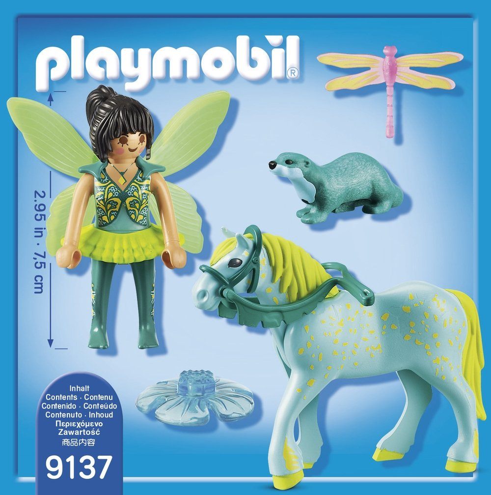 PLAYMOBIL/® Enchanted Fairy with Horse Toy Multicolor 9137