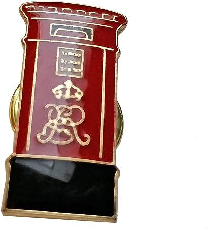 /Badge souvenir de Londres avec /épingle Broche en /émail avec blason de la ville de Londres