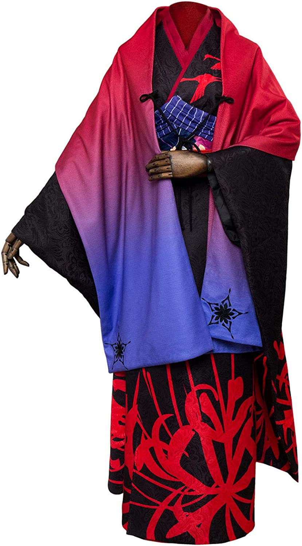 COSTHAT Fate Grand Order Asagami Fujino Cosplay Costume FGO Archer Fujino Kimono Suit