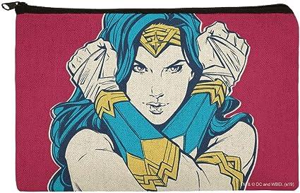 Wonder Woman Movie Crossed Arms - Estuche organizador con cremallera para lápices: Amazon.es: Oficina y papelería