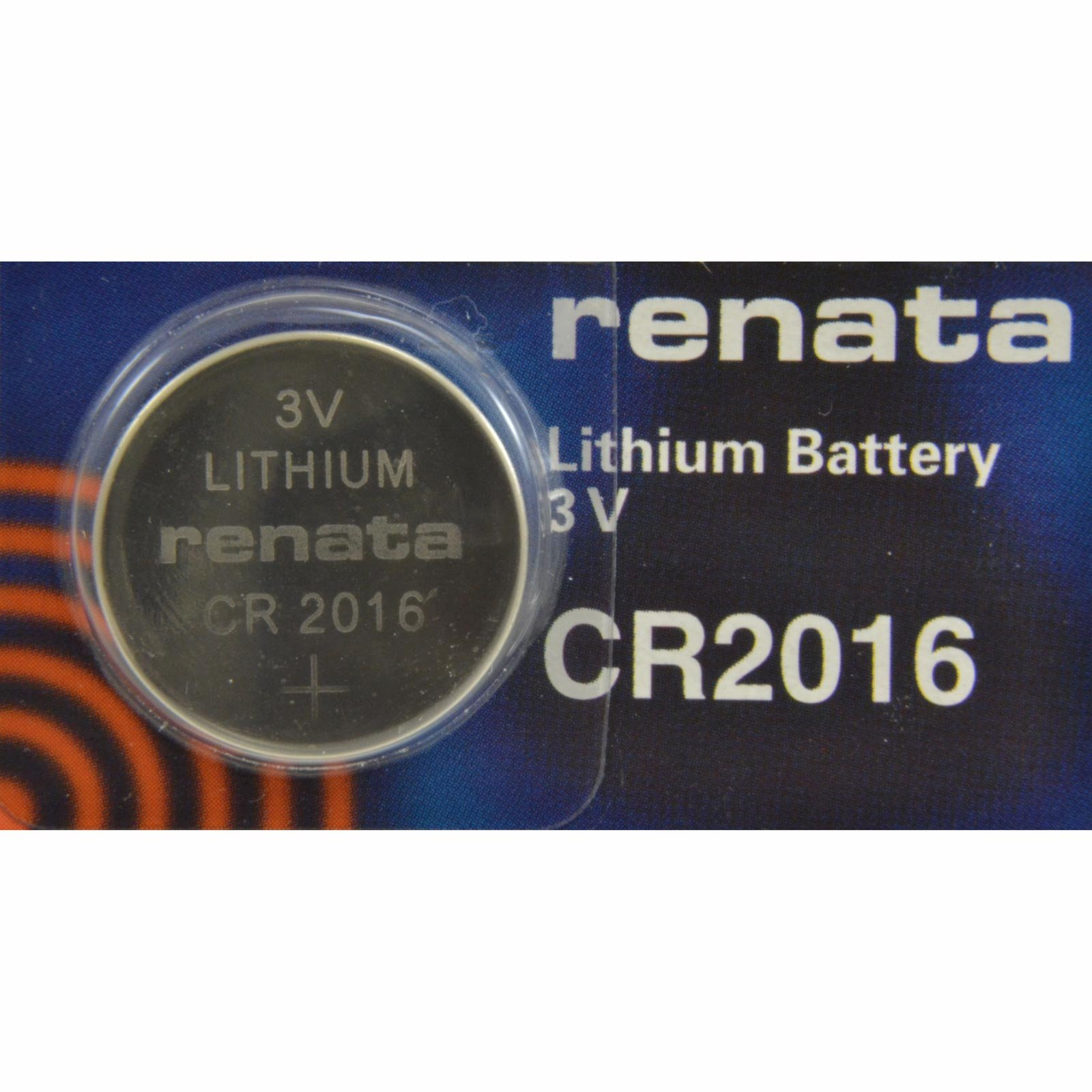 Renata CR2016 watch battery