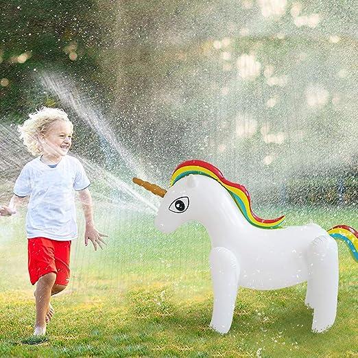 Vercico - Grifo Hinchable de Unicornio para niños, para la ...