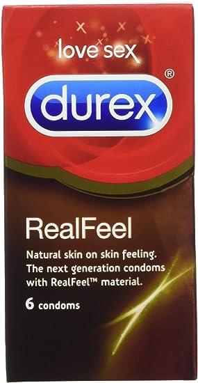 Durex - Condones, pack de 6 condones (importado de Inglatera): Amazon.es: Salud y cuidado personal