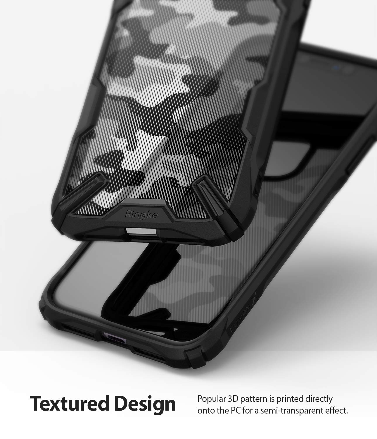 2019 Black Ringke Fusion X Designed for iPhone 11 Case