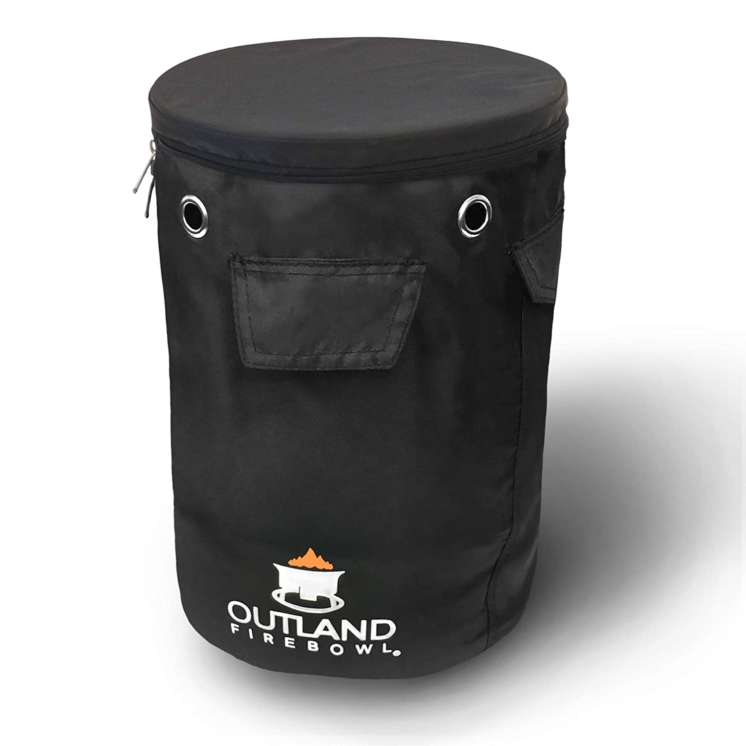 Outland Firebowl UV and Weather Resistant 740 Propane Gas Tank Cover with Stable Tabletop Feature, Fits Standard 20 lb Tank Cylinder, Ventilated with Storage Pocket Outland Living