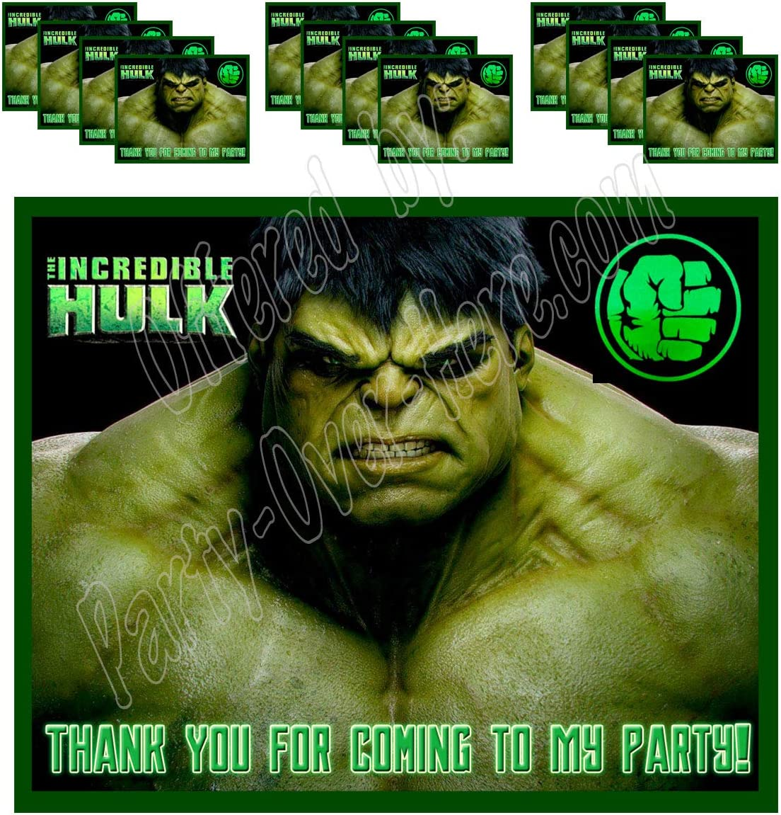 Avengers Infinity War Stickers x 5 Avengers Birthday Party Favours Loot Gifts
