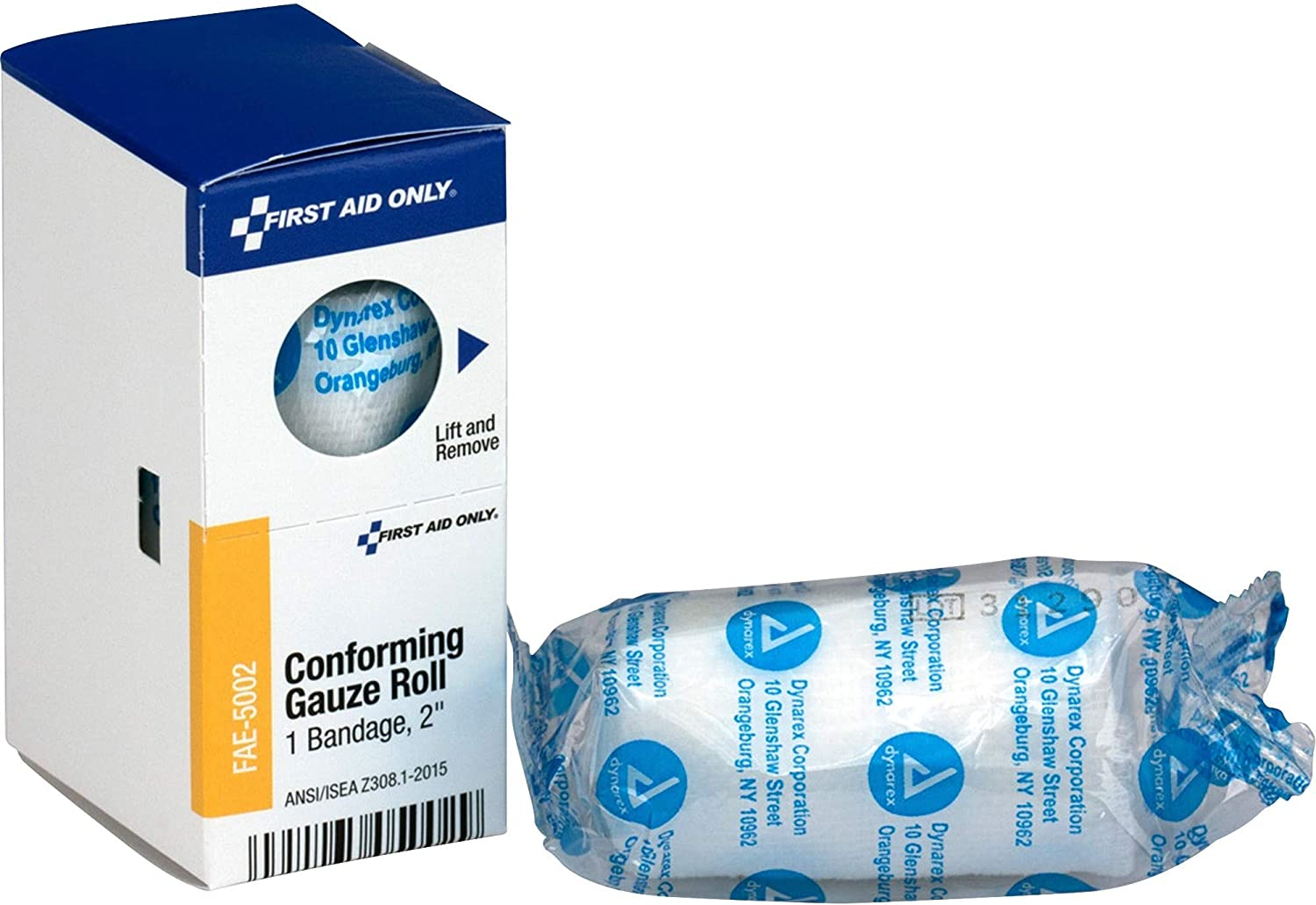 First Aid Only, Inc FAE5002 Conforming Gauze Roll, 2-Inch, White: Sports & Outdoors
