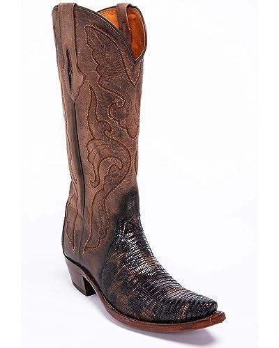 2f10e48109f Amazon.com   Lucchese Women's Handmade Sasha Lizard Cowgirl Boot ...