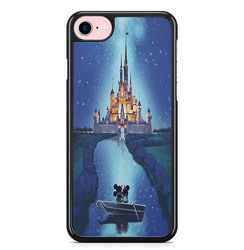 Coque iPhone 5C Mickey Minnie chateau enchante: Amazon.fr: Handmade