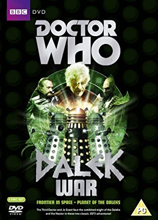 Picture of BBCDVD 2614 Doctor Who - Dalek War boxed set by artist Malcolm Hulke / Terry Nation from the BBC dvds - Records and Tapes library