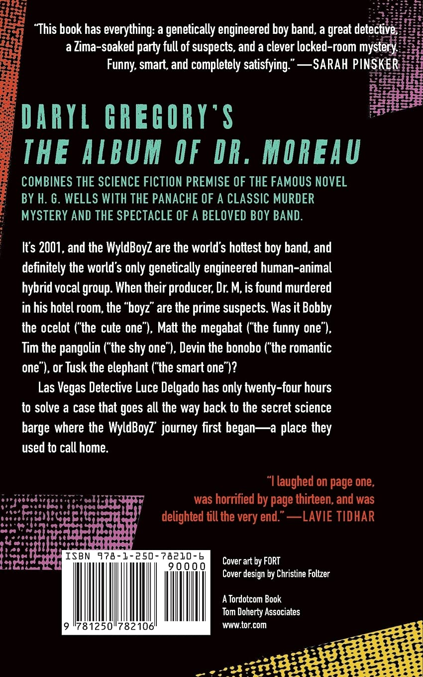The Album of Dr. Moreau by Daryl Gregory science fiction and fantasy book and audiobook reviews
