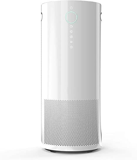 Purificador de aire para el hogar Habitación grande con filtro HEPA verdadero, filtro de aire con 3 temporizadores y velocidades, luz nocturna, función de desinfección,adecuado para oficina, estudio: Amazon.es: Hogar