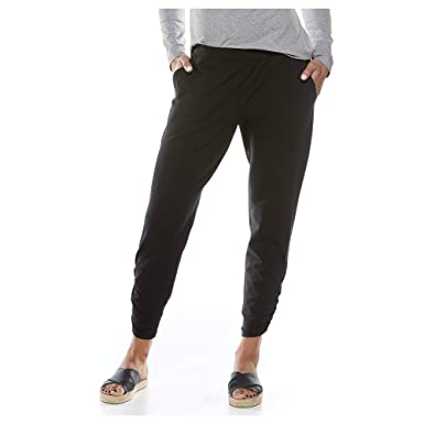 be7268ee2a Coolibar UPF 50+ Women's Café Ruche Pants - Sun Protective at Amazon ...
