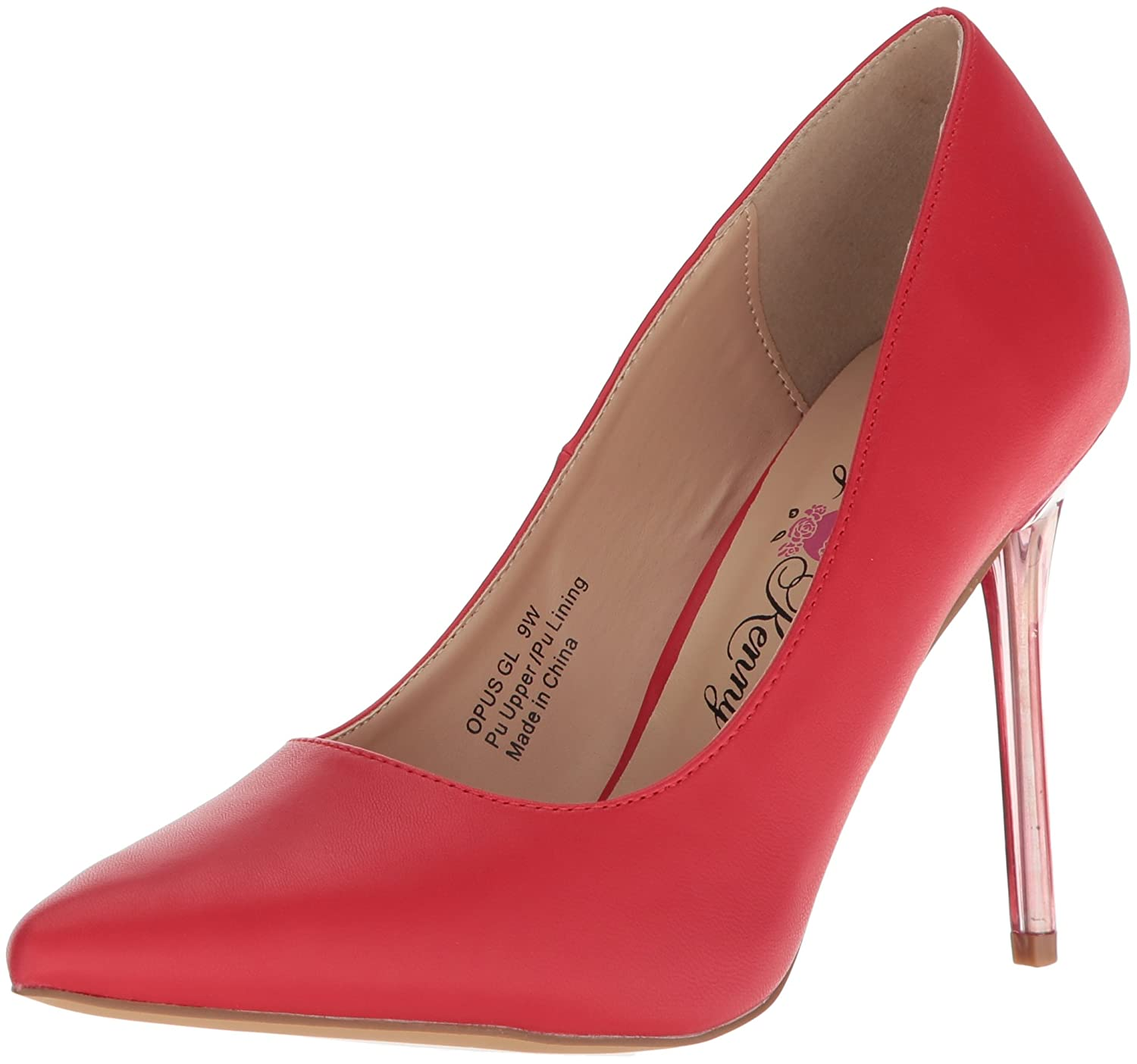 Penny Loves Kenny Women's Opus Gl Pump B076FDWDLY 13 W US|Red