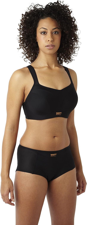panache - Soutien-gorge de sport Femme - Sports Bra Noir (Black)