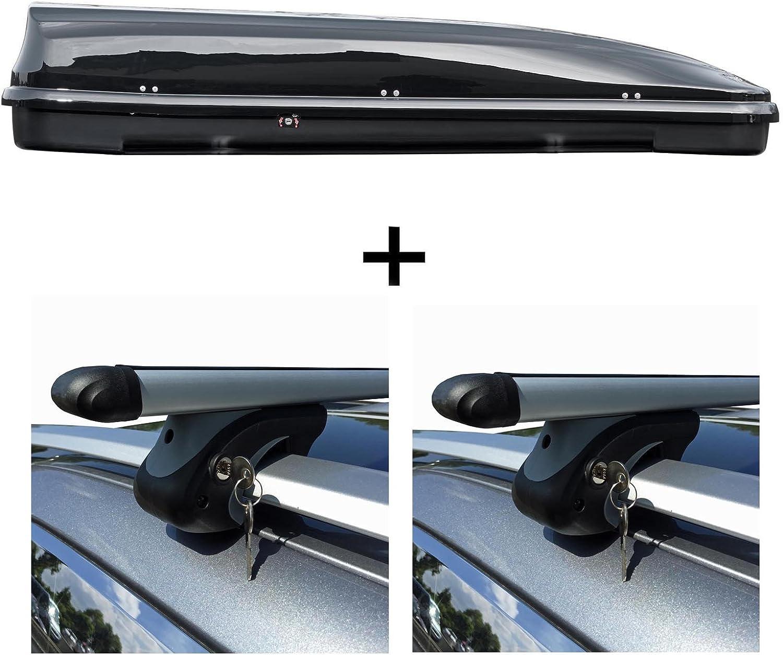 Alu Relingtr/äger VDP004XL kompatibel mit Dacia Logan Kombi//MCV ab 04 abschlie/ßbar