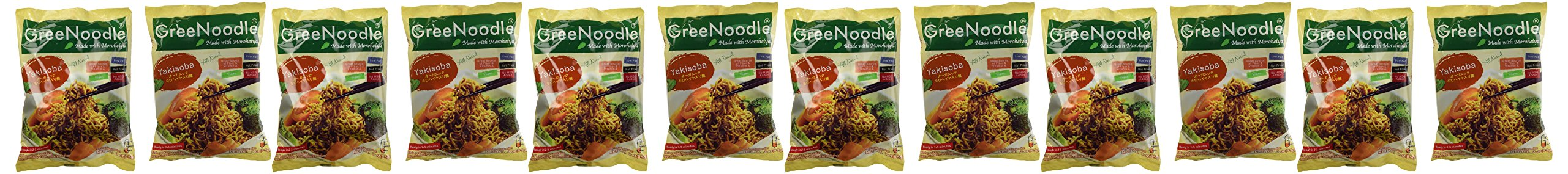GreeNoodle Yakisoba Noodles, 3 oz