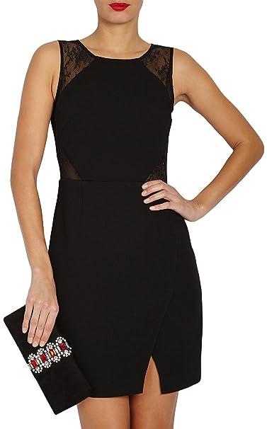 Morgan 151-RENA.N - Vestido paramujer, color schwarz/schwarz, talla