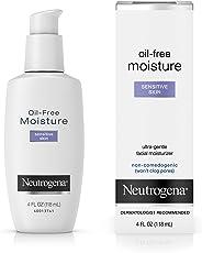 Neutrogena Oil Free Moisture Sensitive Skin, 118ml
