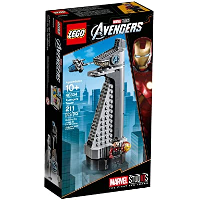 Lego Avengers Tower 40334: Toys & Games