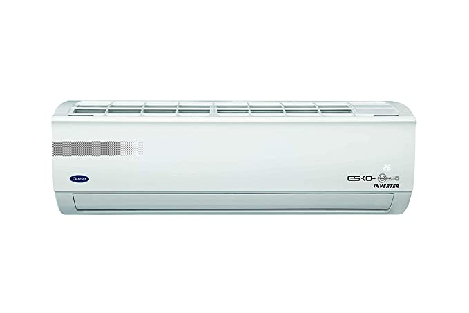 Carrier 1.5 Ton 3 Star Inverter Split AC  Copper, ESKO+ HYBRIDJET INV R410A,CAI18EK3R49F0, White  Air Conditioners