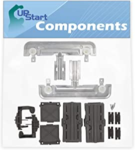 W10712395 Dishwasher Adjuster Replacement Kit Replacement for Whirpool, Kenmore & KitchenAid Dishwashers - Compatible with Part Number AP5957560, PS10065979