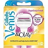 Venus Olay Sugarberry - Cuchillas perfumadas (aroma dulce de baya, 6 unidades)