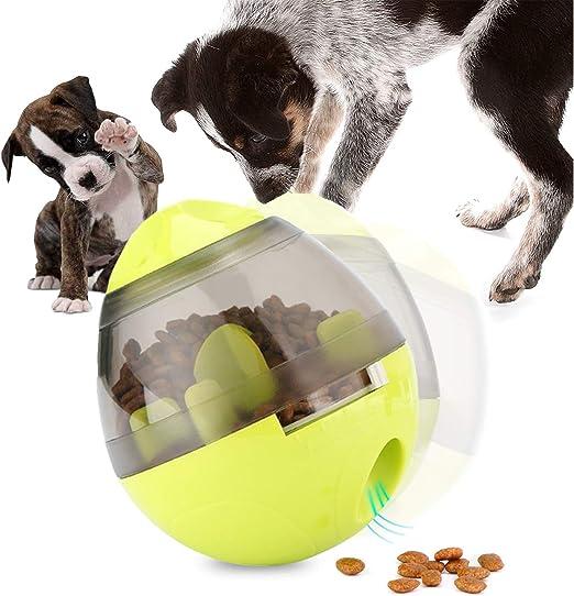 UIQELYS Iq Treat Ball, Pelota interactiva para Mascotas Pelota ...