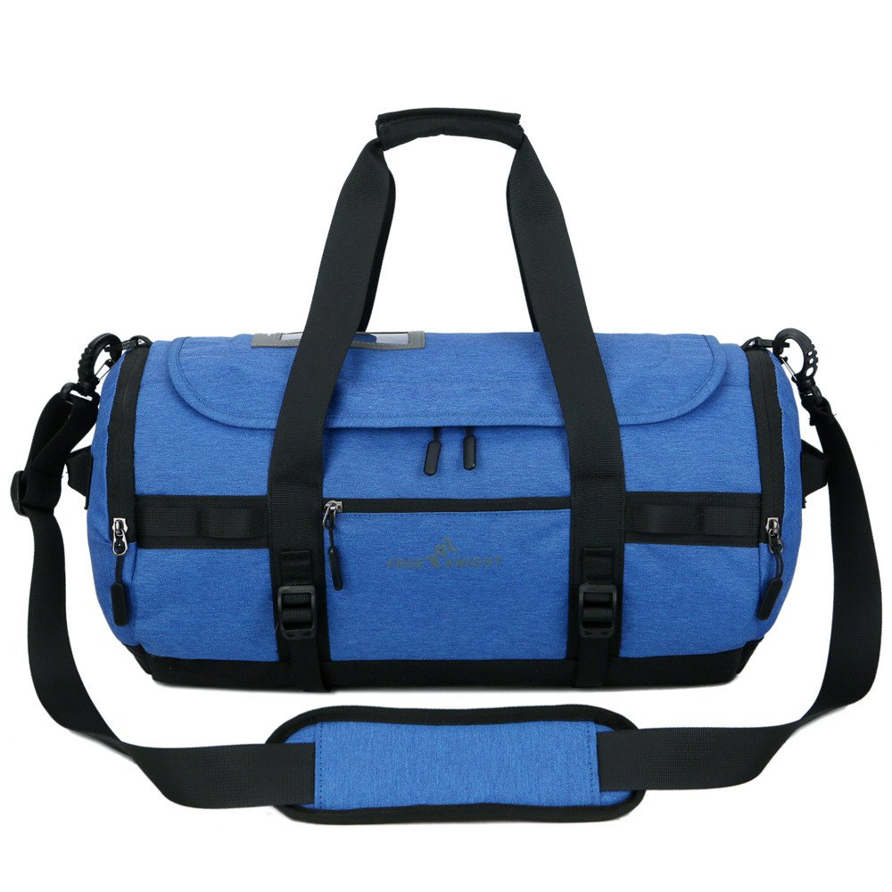 f8ee1bbc9 Amazon.com: Large Capacity Outdoor Gym Bags, Vacio Soccer Training Handbag  Traveling Hiking Shoulder Bag Shoes Storage Tote Ultimate Gym Bag(Blue):  Kitchen ...