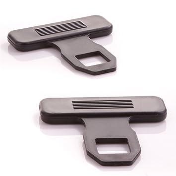 2x Universal Seat Belt Buckle Clips | Prevents Warning Light/Alarm