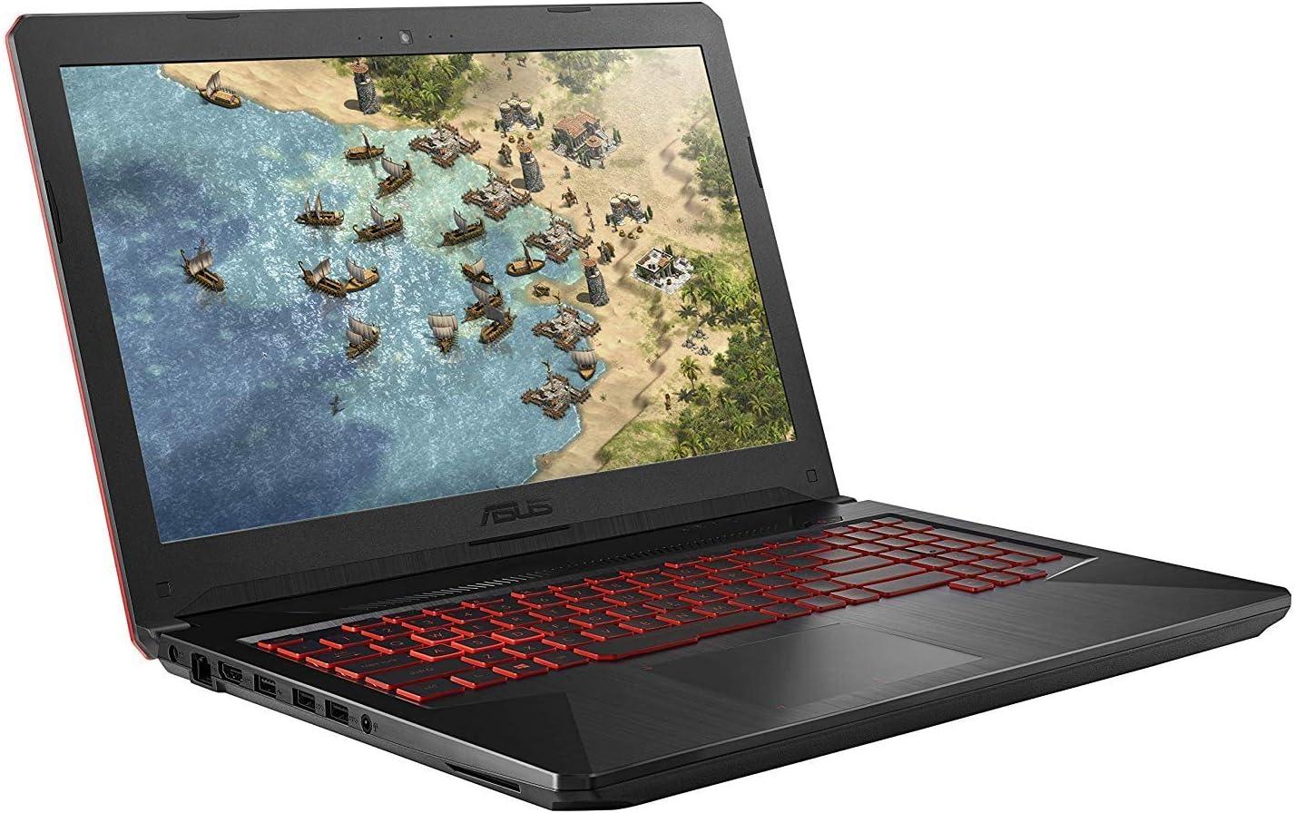 "2019 Asus TUF 15.6"" FHD VR Ready Gaming Laptop Computer, 8th Gen Intel Hexa-Core i7-8750H up to 4.10GHz, 16GB DDR4, 256GB SSD + 1TB HDD, GTX 1050 Ti, 802.11ac WiFi, HDMI, Backlit Keyboard, Windows 10"