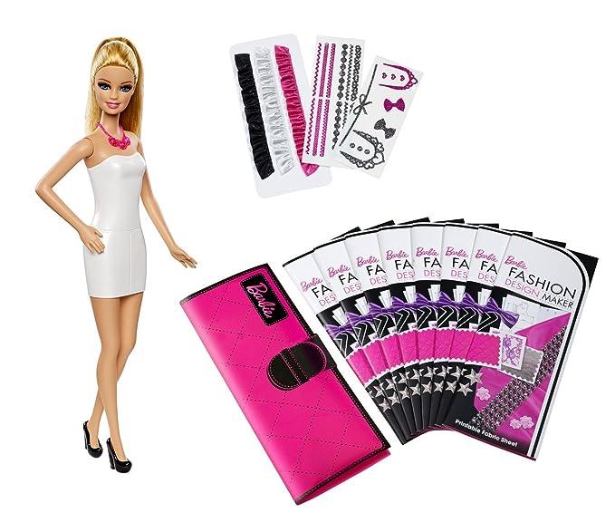 Barbie Mattel CFD56 - Fashion Design Maker, Puppe mit Zubehör ...