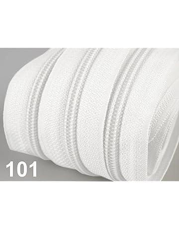15m 50 Zipper endlos Reißverschluss Set 30 Farben Reißverschlüsse