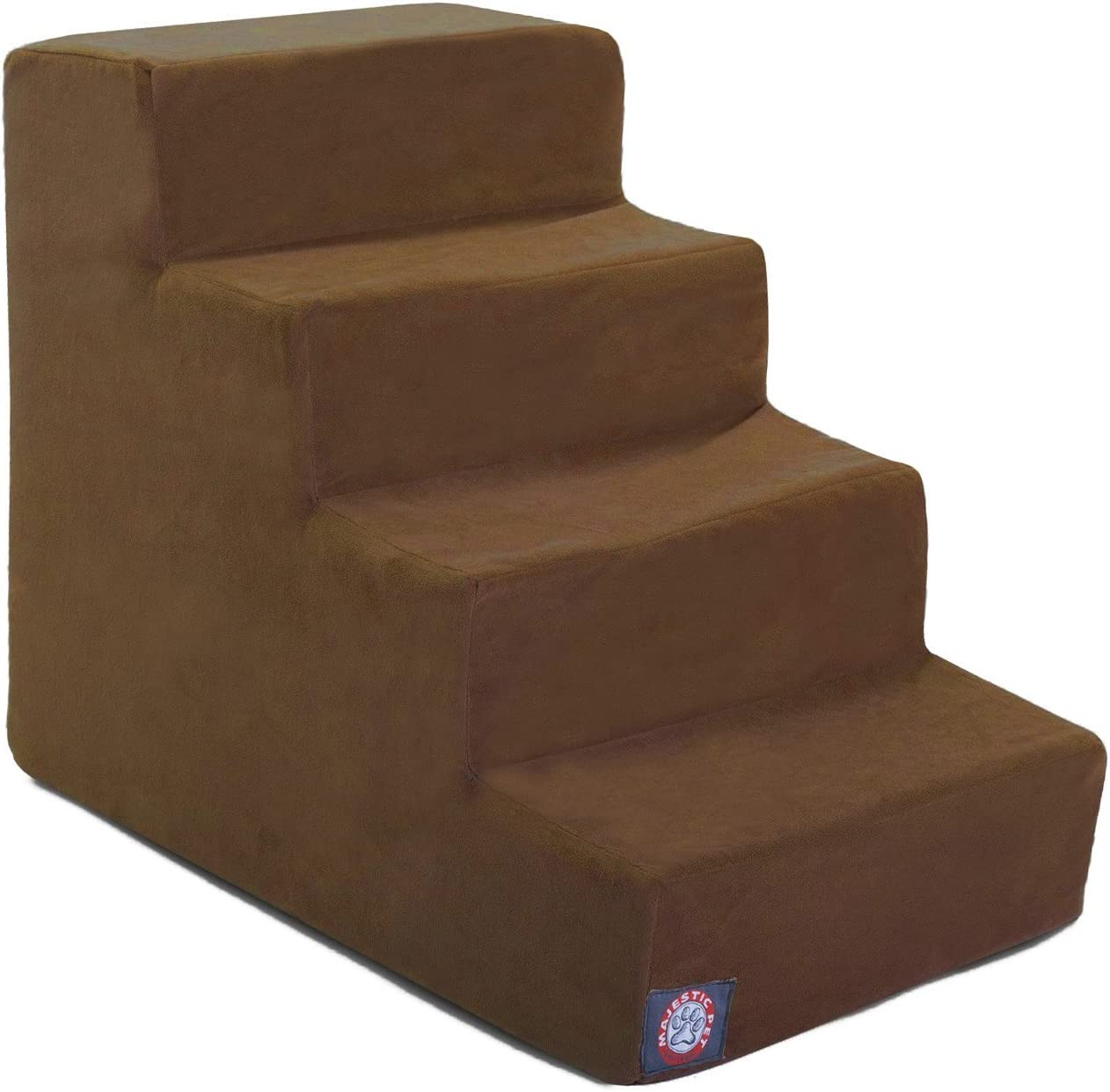 3 Step Black Velvet Suede Pet Stairs by Majestic Pet Products 71kqGe0161L