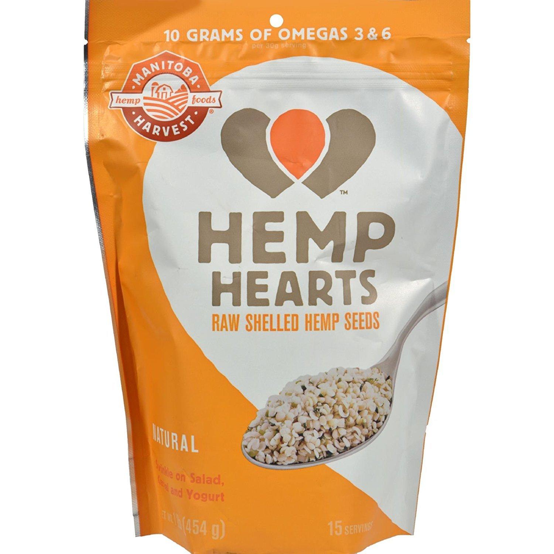 Hemp Hearts (Soft Hemp Seeds) (454grams = 1 Pound)