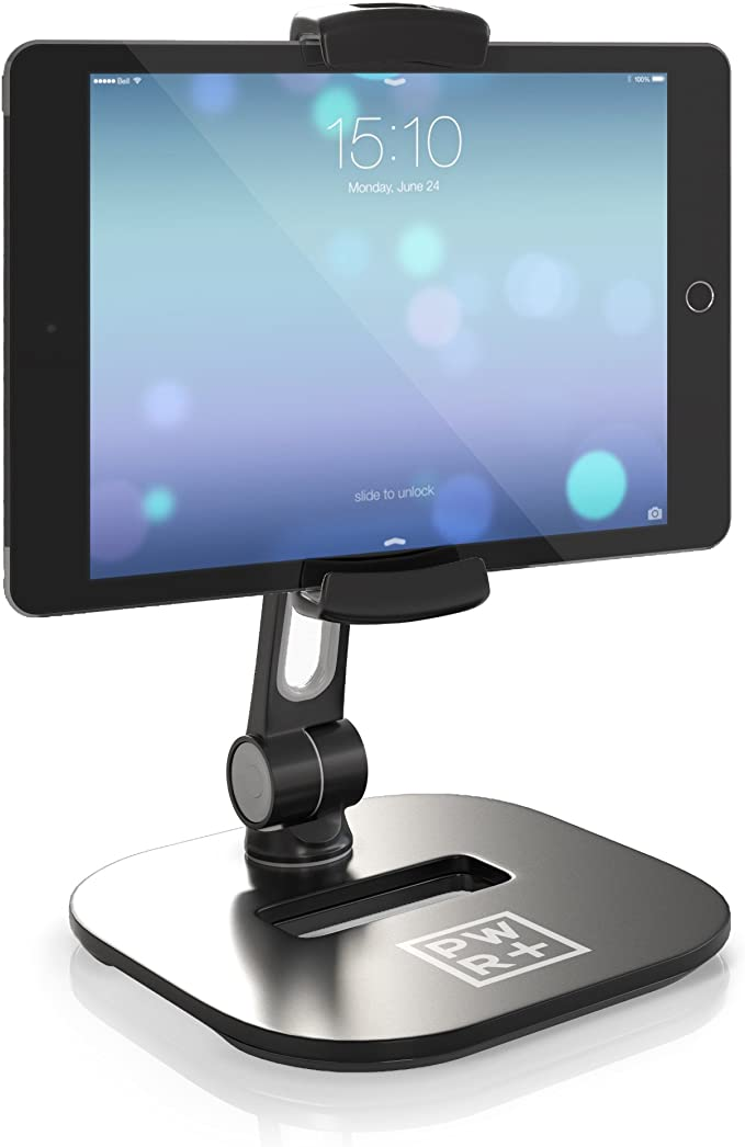 iPad Air mini 2 3 4 Switch 11 360 Rotating Desktop Stand Mount Dock for iPad Pro 12.9 Adjustable Tablet Holder iPhone Lamicall Tablet Stand Samsung Tab Black other Tablets 10.5 9.7
