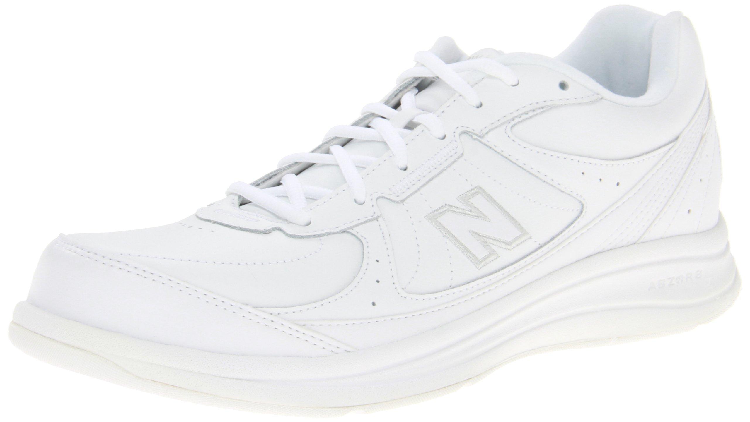 New Balance Men's MW577 White Walking Shoe - 14 4E US