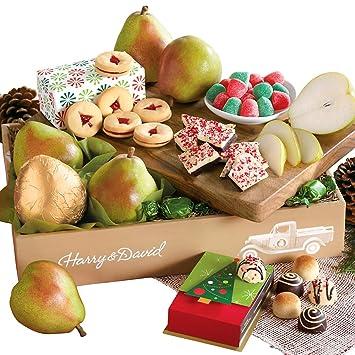 Amazon.com : Harry & David Christmas Gift Box Classic : Gourmet ...