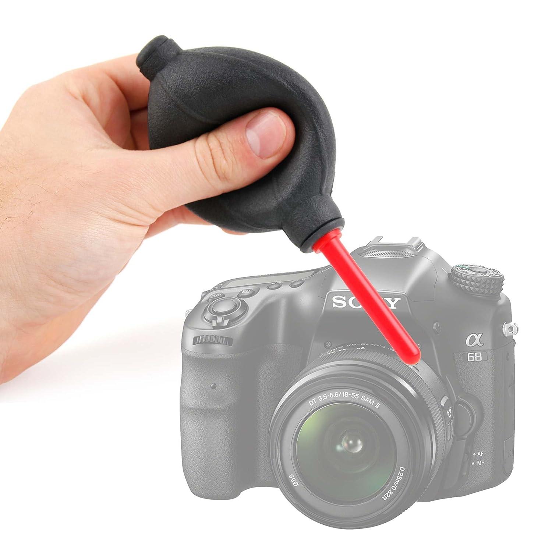 DURAGADGET Perilla/lápiz de aire para cámara Sony Alpha 68 | Kodak ...