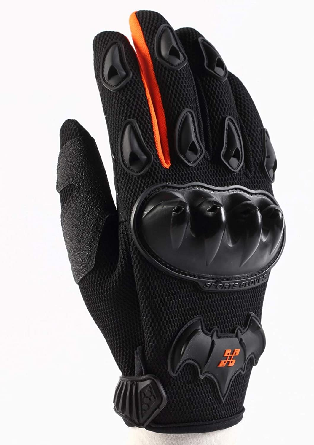 Black,M ARTOP Touch Screen Motorbike Anti-slip Anti-Collision Gloves for Men Motorcycle Gloves