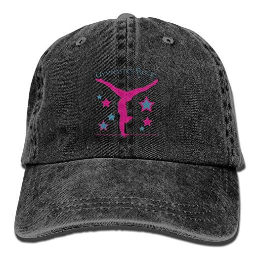 767f4cc0a16c1 Image Unavailable. Image not available for. Color  Gymnastics Rock Unisex Adults  Classic Vintage Adjustable Cowboy Hat ...