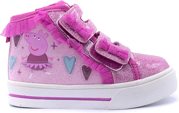 Peppa Pig Pink Ribbon Ballerina Glitter