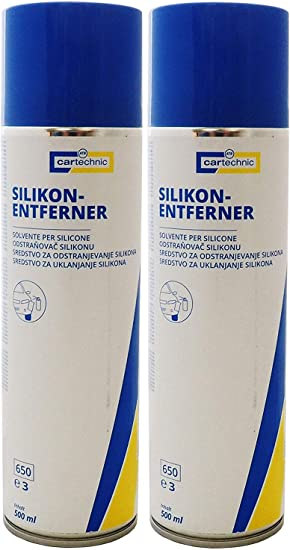 2x Silikonentferner Spray 500ml Z B Für Autolack Silikonreiniger Silikonlöser Auto