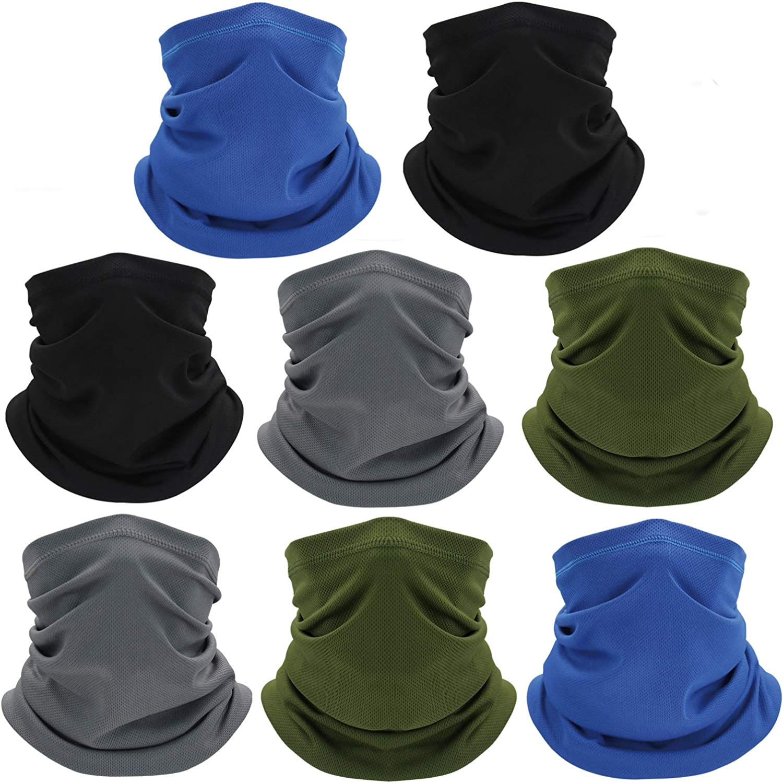 Neck Gaiters Summer Face Cover Mask Bandana for Men//Women UV Protection Scarf Sunscreen Breathable Bandana