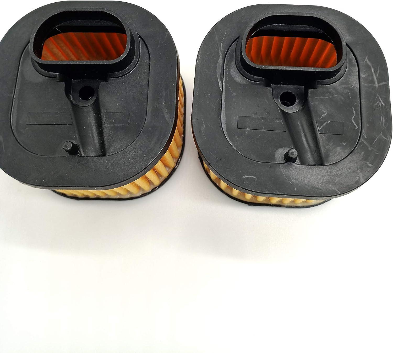 shiosheng 2pcs Compre Heavy Duty Air Filter Fit Husqvarna 371 372 XP 372XP 503818001 503818004 Chainsaw Square Type