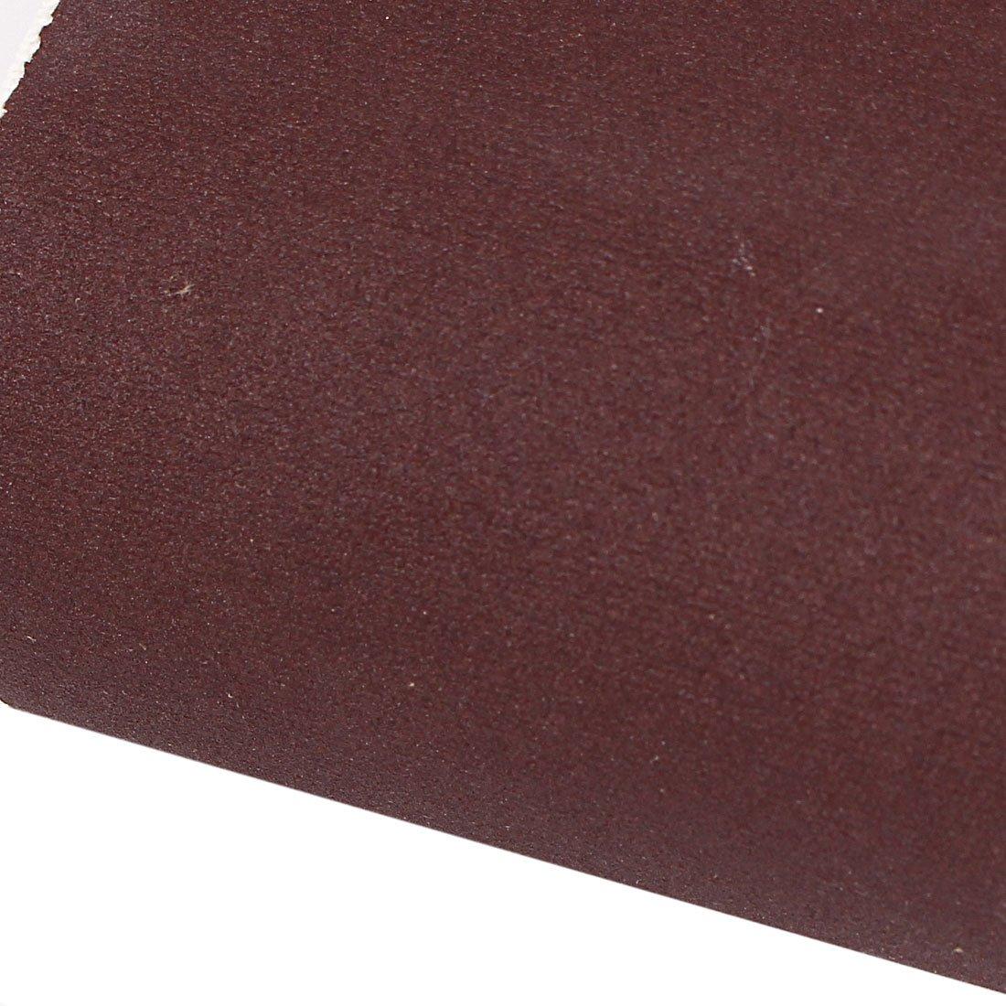 Sourcingmap/® menuiserie 533/Mmx75/mm Grain 240/Abrasif Ceinture papier de verre 5/pcs