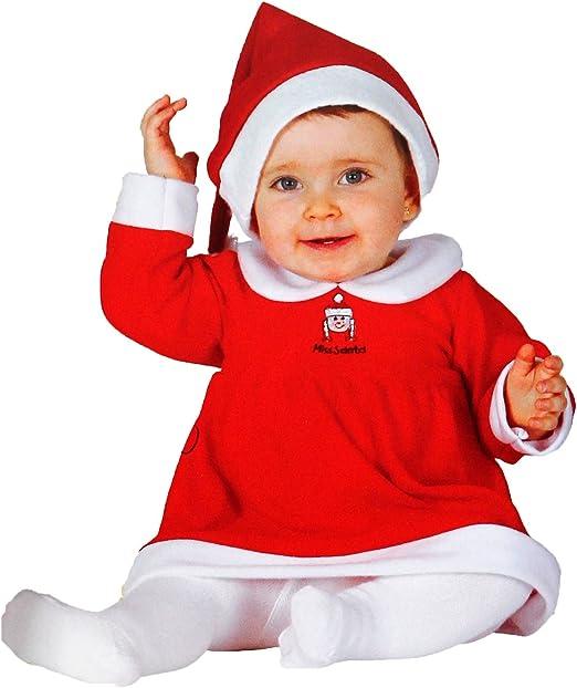 GUIRMA Disfraz de Mamá Noel para bebés de 6 a 12 Meses: Amazon.es ...