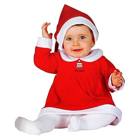 GUIRMA Disfraz de Mamá Noel para bebés de 6 a 12 Meses