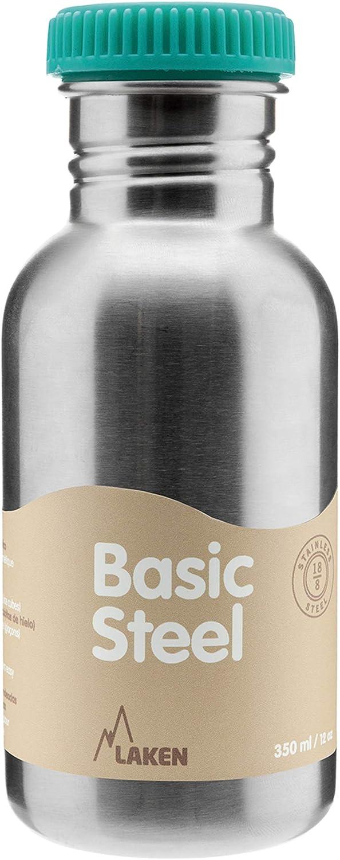 Azul 500 ml Laken BS50R Botella de Acero Inoxidable conTap/ón