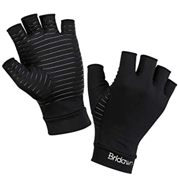 Amazon.com: Bridawn - Guantes de compresión para artritis ...